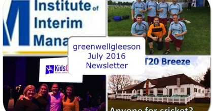 July 2016 Newsletter