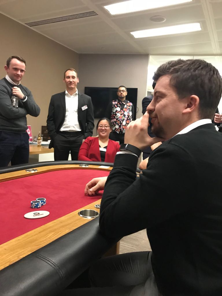 DWF Poker Night 1st March - Greenwell Gleeson